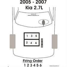 solved need diagram of coil pack firing order on 2007 kia fixya