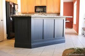 install kitchen island install beadboard on kitchen island kitchen design