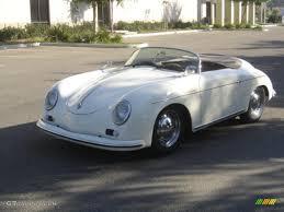 porsche speedster 1956 white porsche 356 speedster recreation 924510 gtcarlot com