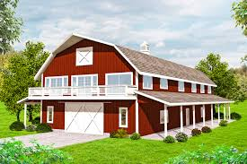 terrific storage in barn style house plan 35567gh