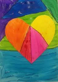 kindergarten valentines project warm and cool hearts laselvabeachart