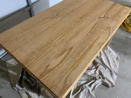 how to stain pine table correcting light stain on pine desk finewoodworking