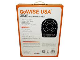 gowise gw22615 usa induction glass cooktop the modern way to cook