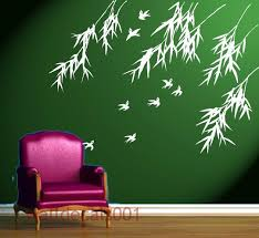 giraffe wall sticker stickers idolza home decor large size wall decals stickers art birds with bamboo by walldecals001 designs