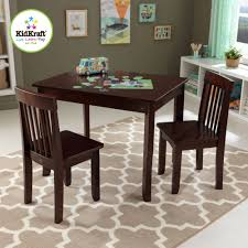 Kids Computer Desk And Chair Set by Kidkraft Modern Table U0026 2 Chair Set Highlighter Walmart Com