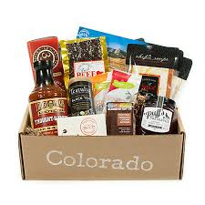 colorado gift baskets colorado gift baskets in a box regional makers