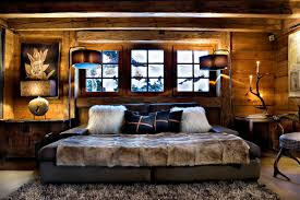 chambre luxe avec les fermes de hotel et spa de luxe à megeve