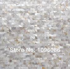 online shop silver white subway shell mother of pearl tile