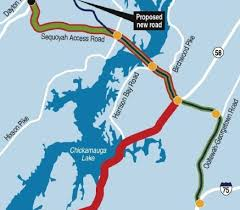 Toll Roads In Florida Map by Chattanooga Proposed Toll Bridge Sited Just South Of Sequoyah