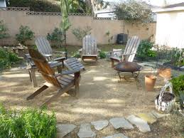 Lowes Backyard Ideas by Exterior Design Decomposed Granite Garden With Fire Pit Design