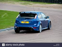 high performance ford focus ford focus rs mk2 high performance hatch car on a race track