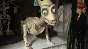 Dog Skeleton Halloween Gemmy Halloween Animated Boney Barney Skeleton Dog 1st Version