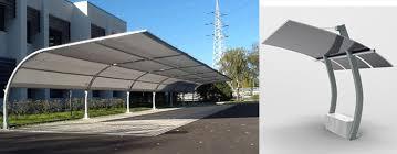 tettoie per auto pensiline e tettoie in acciaio inox legno ferro policarbonato