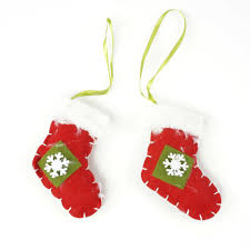 Cheap Christmas Tree Decorations Cheap Christmas Ornament 1 Set Hanging Sock Fabrics Christmas Tree