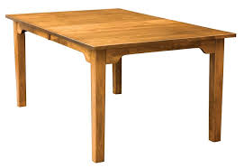 Custom Built Dining Room Tables by Handcrafted Shaker Dining Table 36