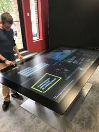 Interactive Meeting Table Touch Screen Tables Digital Touch Systems