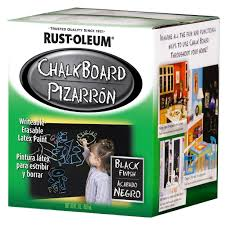 buy the rust oleum chalkboard paint black at michaels