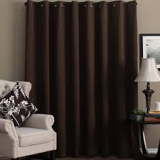 ultimate blackout grommet top patio curtain panel 112 x 84