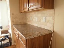 inspiring natural stone tile kitchen backsplash with grey color