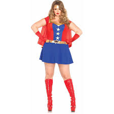 gurls halloween costumes leg avenue plus size 3 piece comic book halloween