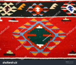 Stylerug by Colorful Serbian Peruvian Style Rug Surface Stock Photo 140736109