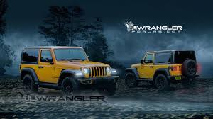jeep renegade 2018 interior 2018 jeep wrangler two door rendered with new cues
