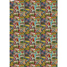 marvel wrapping paper character wrapping paper marvel 3m gift wrap