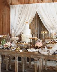 table picture display ideas picture of rustic inspired food display ideas with tastiest desserts