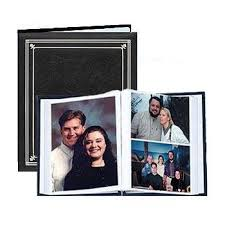 photo album for 8x10 pictures post bound black pocket album for 5x7 and 8x10 prints