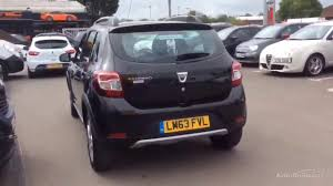 renault sandero stepway black dacia sandero stepway laureate dci black 2013 youtube