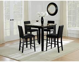 American Signature Dining Room Sets The Shadow Counter Height Collection Black American Signature