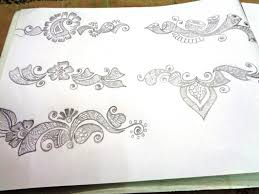 new bridal beautiful mehndi design shapes draw youtube