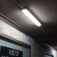 vapor proof fluorescent light fixtures 4 u0027 40w led vapor tight ip66 waterproof light fixture 5000lm 5000k