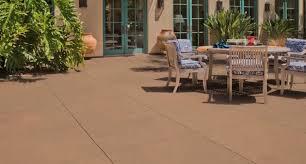 exterior concrete paint customize concrete patios with color