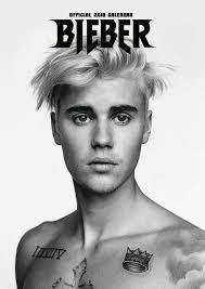 Justin Bieber Justin Bieber Official 2018 Calendar A3 Poster Format