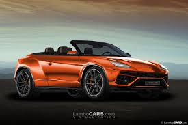 convertible lamborghini the lamborghini urus is being road tested 2018 urus test mule 25
