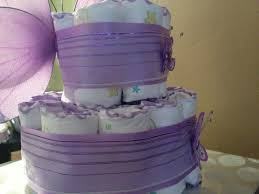lavender baby shower decorations photo 2 tier purple butterfly image