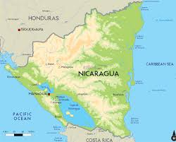 Country Maps Country Map Of Nicaragua