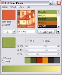 how to find the color code with just color picker