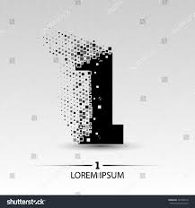 Number One Number One Logo Vector Design Illustration Stock Vector 324740918