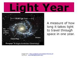 how long to travel a light year images 8th grade characteristics of the universe ppt download jpg