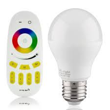 e27 rgbww wifi led bulb 6w ios android compatible buyledstrip com