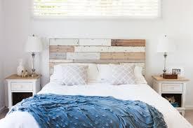 coastal chic headboard for shabby chic style bedroom and shabby