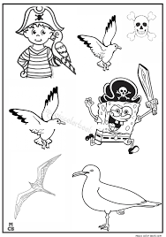 magic pirates coloring pages 03 magic color book