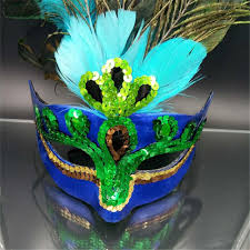 peacock masquerade mask peacock feather venetian mardi gras masquerade mask party
