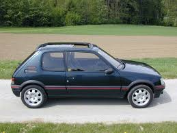 1992 peugeot 205 gti 1 9 peugeot car manufacturers and cars