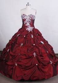 burgundy quince dresses wine sweetheart dresses quinceanera with appliques ups