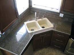 Granite Tile For Kitchen Countertops Kitchens Tile Ideal