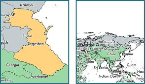 map quiz russia and the republics dagestan republic russia map of dagestan ru where is