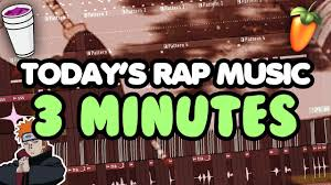 today s today s rap music in 3 minutes youtube